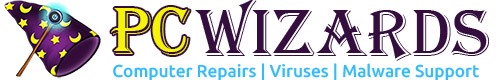 PC Wizards Retina Logo